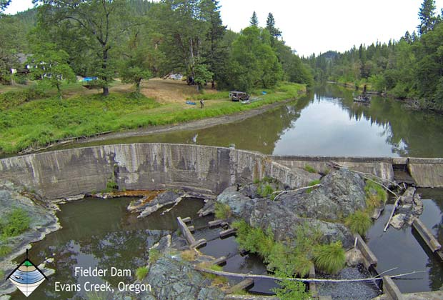 News: Two of Oregon's Evans Creek dams on track for removal
