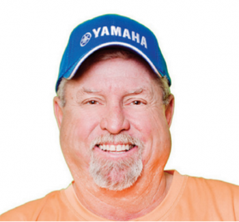 Capt. Russell Tharin, Amelia Island, Florida outspoken conservationist and fishing guide.