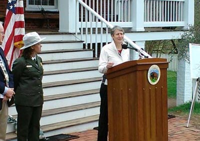Secretary of Interior Jewell addresses the importance of the Land and Water Conservation Fund.