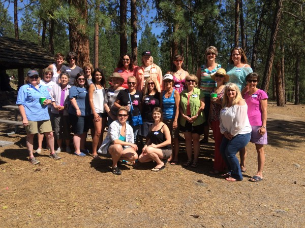 """Spokane Women on the Fly Photo - Inaugural Trout Unlimited """"Summer Suds and Cast Off"""" Picnic - Photo Credit Brian Palmer"""