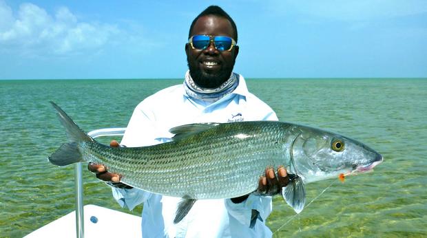 News: Top Bahamas lodge adds talented Meko Glinton to guide staff