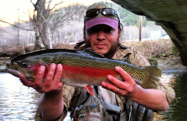 Fly Fishing: Swinging for steelies in the NC mountains? You bet
