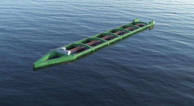 News: Revolutionary Havfarm offshore fish farming ship