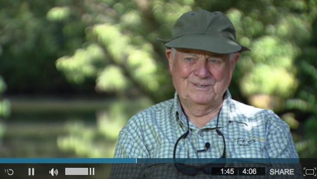 Video: Lefty Kreh helps vets via. Project Healing Waters