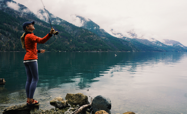 Of Interest: How one woman is teaching herself to fly fish