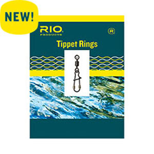The older models tippet rings were either round or oval shaped. This RIO version will make change-outs rocket fast.