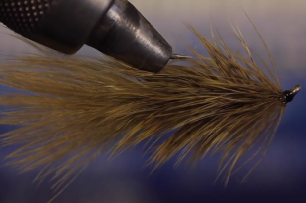 Fly Tying: It is called the Brahma Bugger and Tim Flager ties it