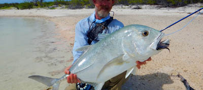 Destinations a ferocious gift lures anglers to christmas for Christmas island fly fishing