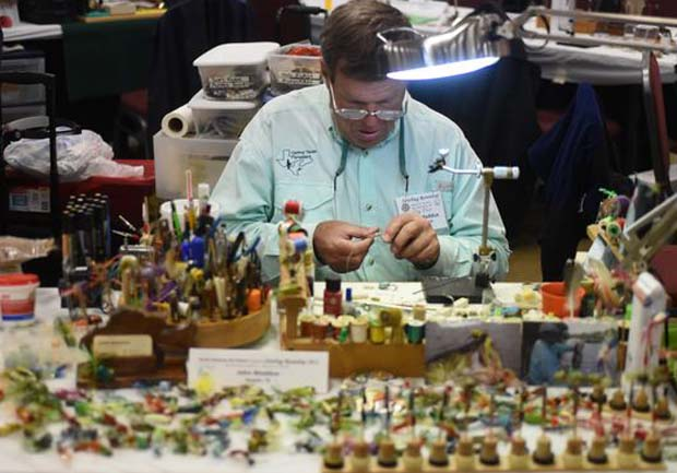 Fly Tying Show: One of the best coming up – April 14th-16th