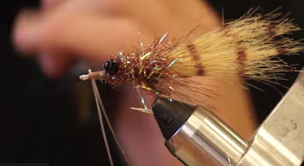 At the vise: Borski Fur Shrimp