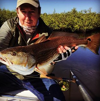 Don with a nice St. Augustine cold weather red.