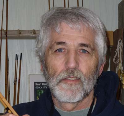 Jerry Kutitch, author, rod maker, angle,r, and conservationist.