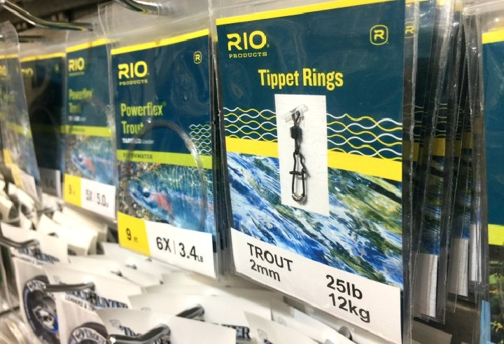 """Tippet rings and tapered leaders, the """"Odd Coupling"""""""