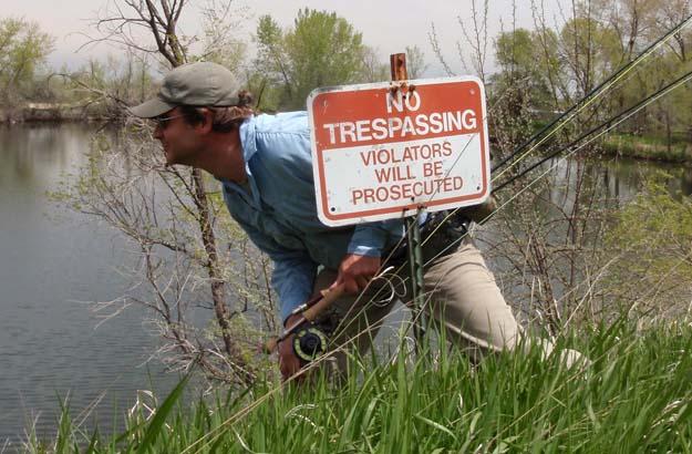 Public Lands Series: It was public but now no trespassing