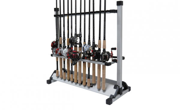 Holds fly rods, spinning rods, conventional rods, kayak paddles and more...
