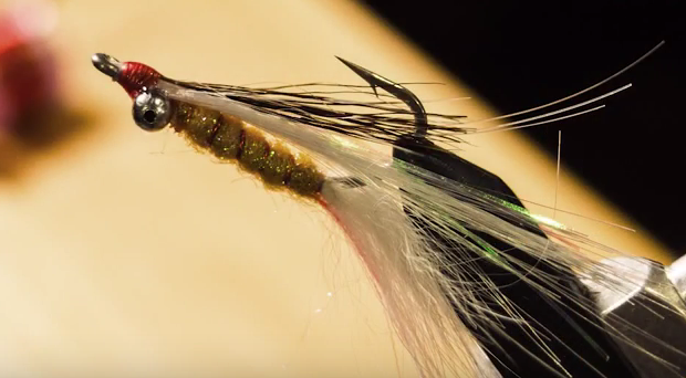 At The Vise: Krill Clouser Minnow