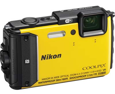 "Specs: 16MP 1/2.3"" CMOS Sensor NIKKOR 24-120mm f/2.8 Lens (35mm Equiv) 5x Optical Zoom, 3"" 921k-Dot OLED Screen Full HD 1080p Video with Stereo Sound. Image provided by NIKON."