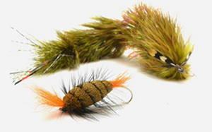 Bomber, classic salmon fly and (smaller) bass fly that travels well. Photo credit Loon Outdoors.