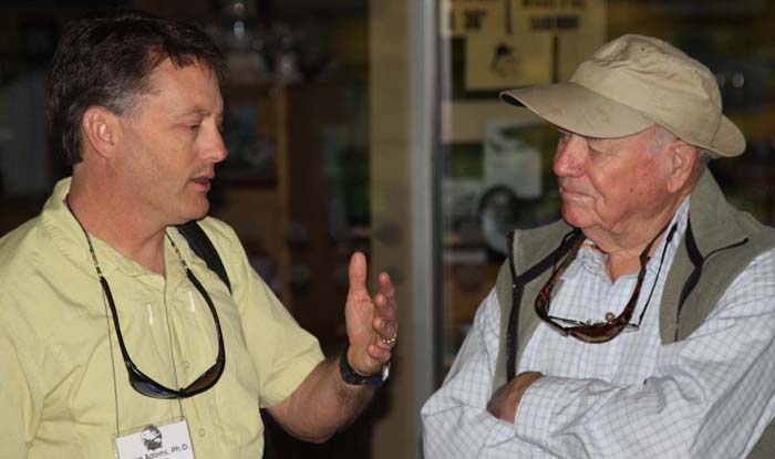 Lefty Kreh on dry flies and nymphs that travel well