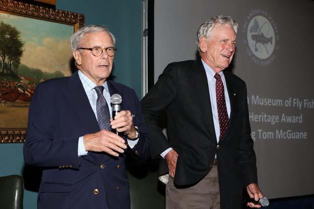 Angler, author Thomas McGuane receives Heritage Award