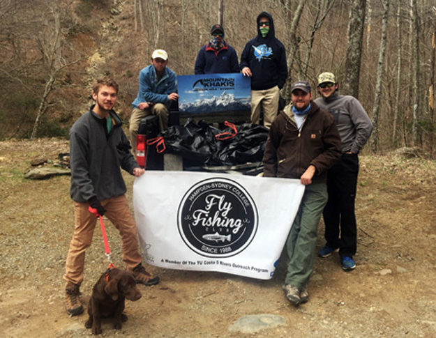 Hampden-Sydney College has big fly fishing thoughts