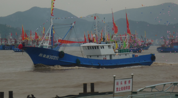 China s fishing fleet fly life magazine for Flying fish fleet