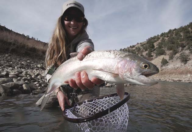 Chasing Stillness – Emily Roley knows why she fly fishes