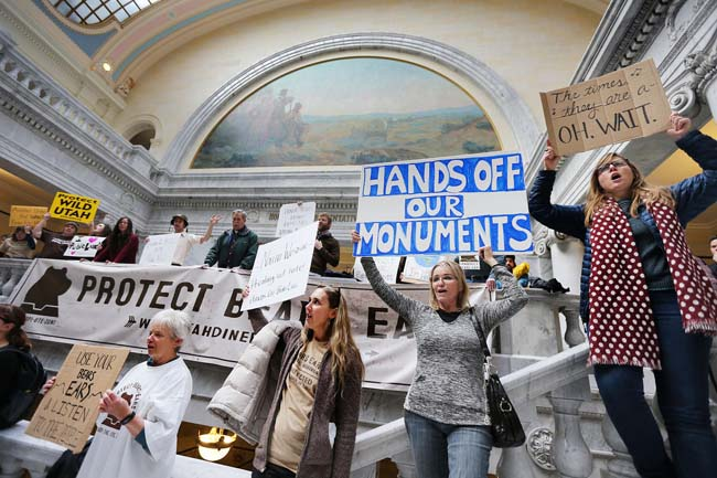 A twist in Bears Ears National Monument outrage
