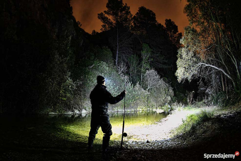 A safer way to fly fish in the dark
