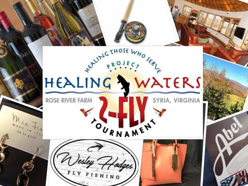 Support 12th Annual Project Healing Waters 2-Fly Tournament