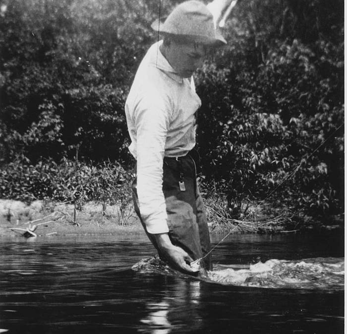 What was it like getting ready for trout season in 1920?