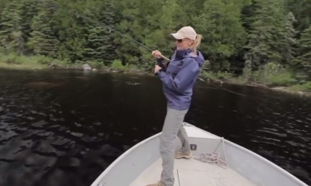 Video: Pike and walleye on the fly