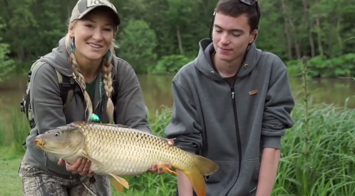 Video: Lake carping on the fly