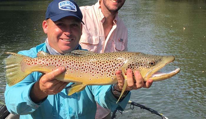 Atlanta's rare trait: year round trout fishing