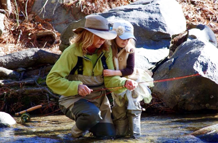 More women are fly fishing than ever before