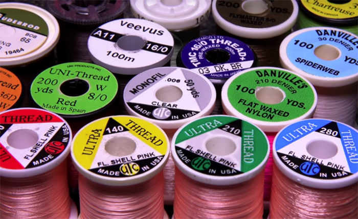 Threads: Choosing tying materials requires thoughtfulness