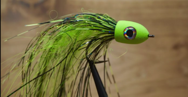 Fly Tying: Slider Head Streamer