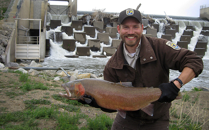 Lahontan cutthroat trout was thought extinct, but like Lazurus rose again