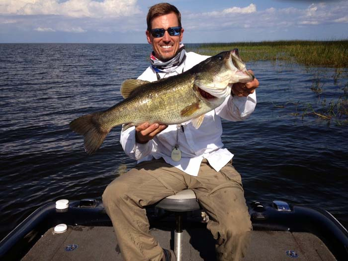 If you need a fly fishing fix, usually largemouth bass are right around the corner