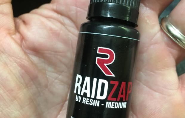 Raidzap UV Resin