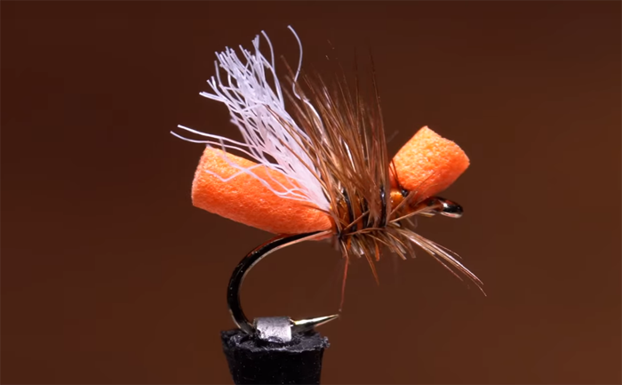 Fly tying a terrestrial on the steroids, the Cinnamon Ant