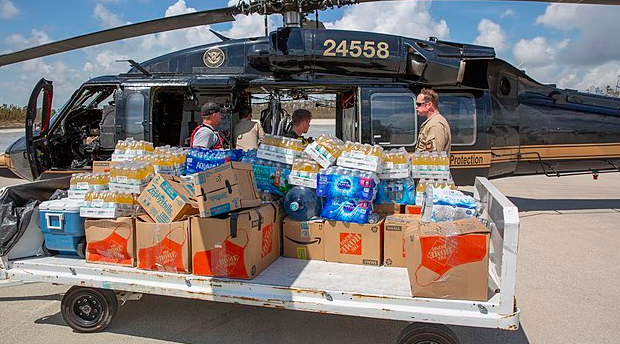 Food-assistance in Abaco triples