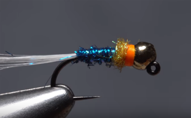 How to tie Flagler's Icy Hot Jig Fly