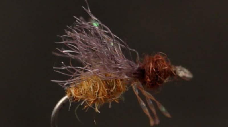 Flylifemagazine.com,Orvis, fly tying, fly fishing,Mike's Honey Ant