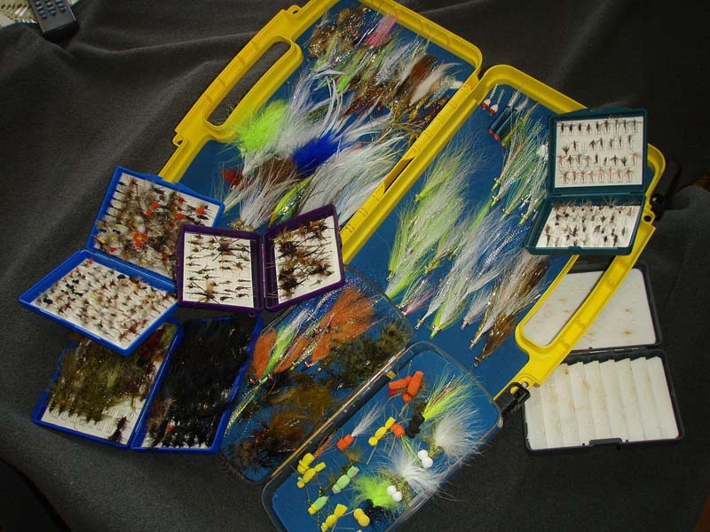 Fly Tying Kits: Tools and feathers, a good book, and a good video