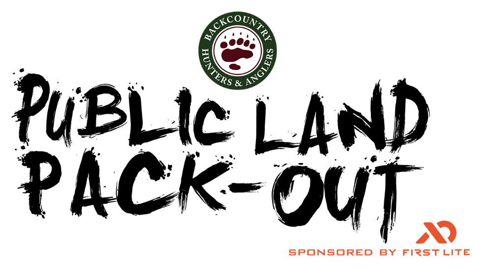 It's Not Snoozeday, It's Pack It Out for Public Lands Day