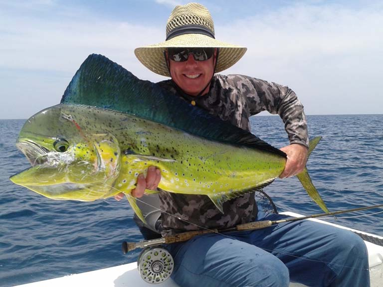 Offshore fly fishing the Palm Beaches with Capt. Scott Hamilton