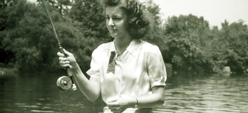 """Women's History Month: Joan Wulff, """"The First Lady of Fly Fishing"""""""