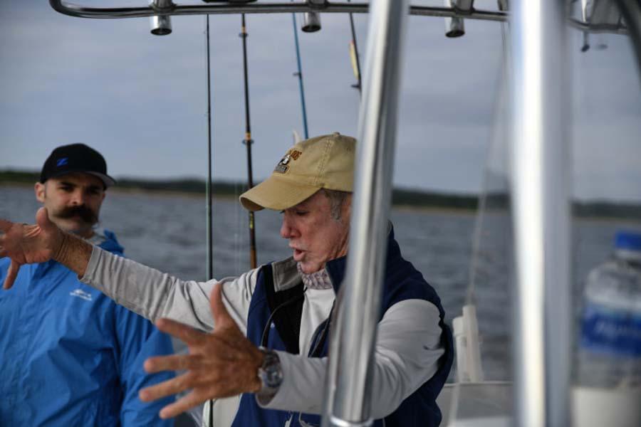 A man for all seasons: Capt. Paul Dixon and his sixth sense