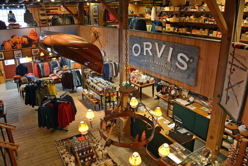 Perkins turned a 1960s doggie bed company into a fly fishing empire